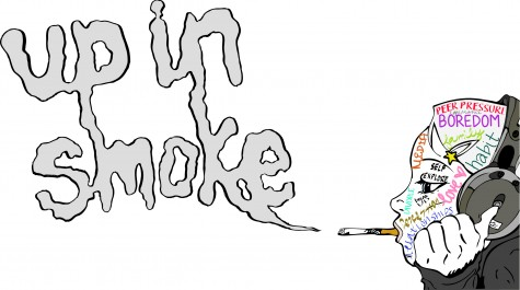 Up in smoke: Cody Diehl