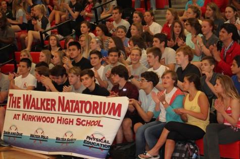 Walker Foundation donates grant for pool
