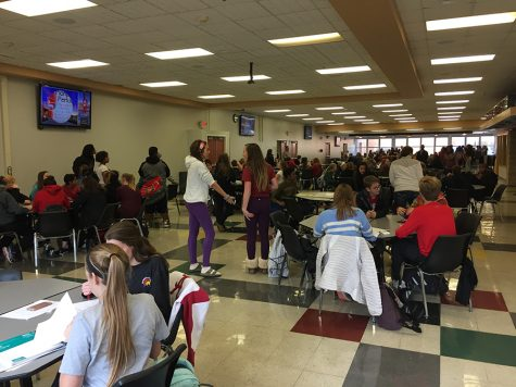 Girls swimming prepares for state competition