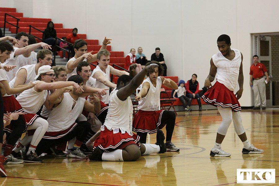 Photo gallery: Male Poms and girls' varsity basketball