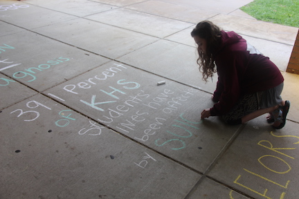 SAW: Chalk Day