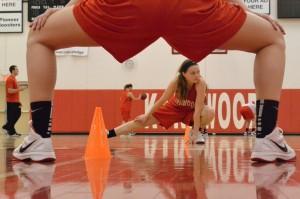 Photo Gallery: Varsity girls' basketball practice