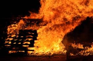 Photo Gallery: Turkey Day bonfire