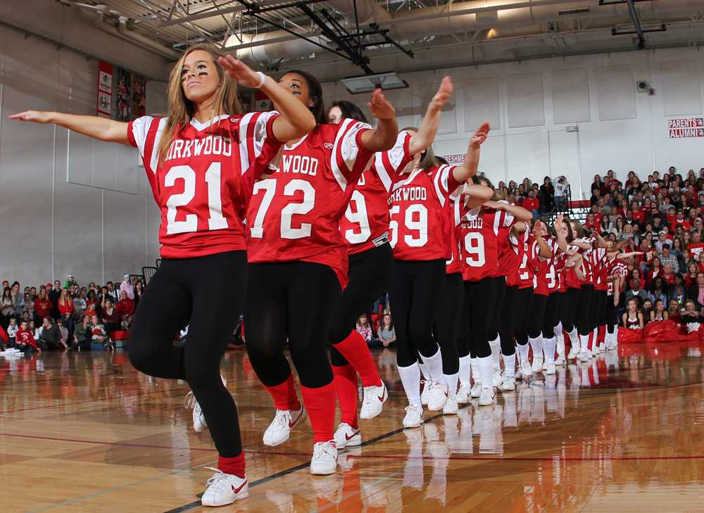 Photo of the day pep rally the kirkwood call for The kirkwood