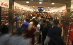 Black Friday shoppers flock to stores in hopes of finding the best deals.