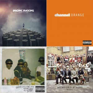 The five best songs of 2012