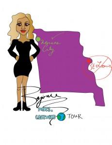 Beyonce tours to Kansas City