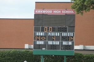 KHS JV football 34-14 win vs. Parkway West