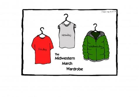 Midwestern March Wardrobe