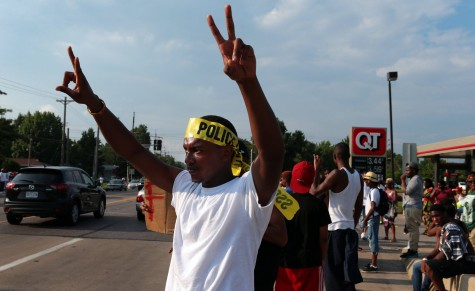 Update: Shots fired in Ferguson