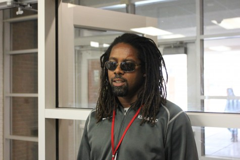 """Lorenzo Brinkley, walking counselor, football and basketball coach Name: """"Organized Confusion"""" """"My wife likes it. I've contemplated on cutting it a lot of times, but everytime I get close to doing it, she always says, 'No, no, no!"""""""