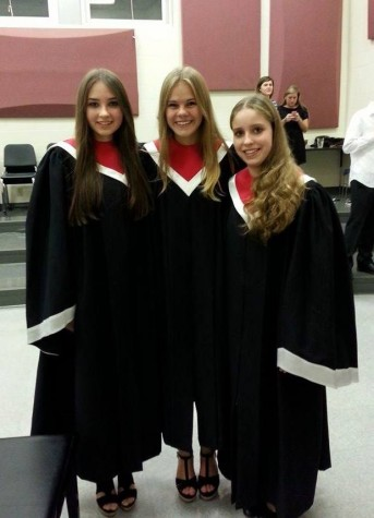 Above are the three GAPP students who participated in the fall choral.