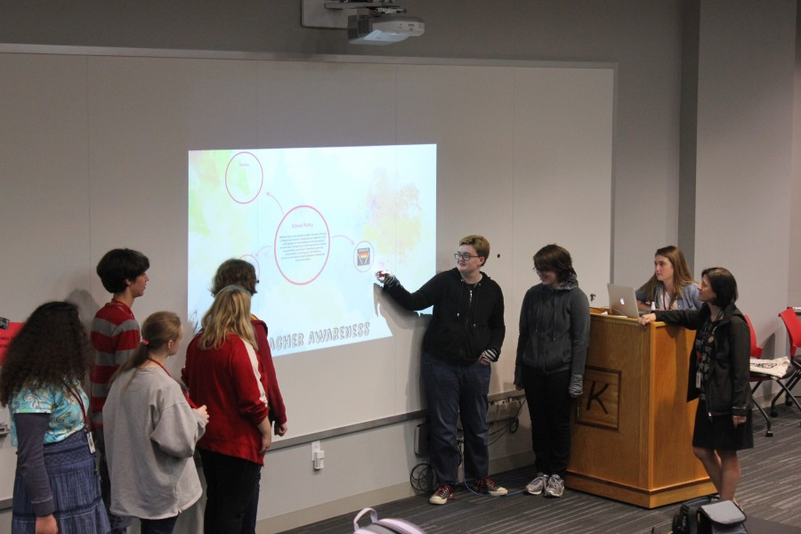 GSA presentation to the staff