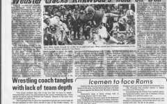 TKC coverage of Webster winning the Turkey Day game in 1975. The games was postponed that year due to snowfall on Thanksgiving day.