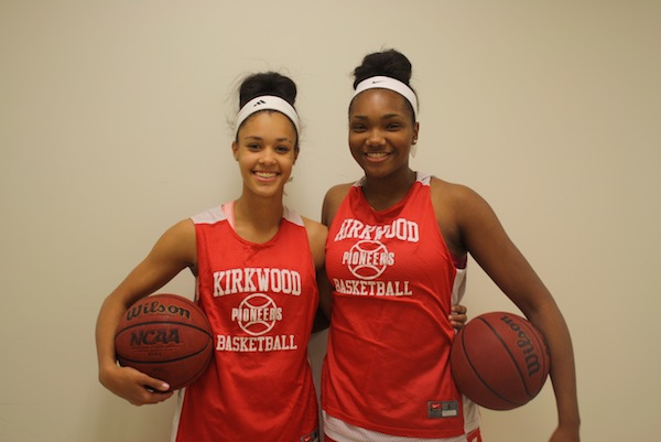 Jordan Roundtree (left) and Lauryn Miller (right)