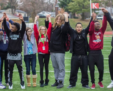 Students hold walkout in light of Ferguson events