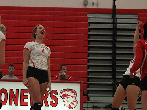Photo gallery: girls varsity volleyball vs. Parkway West