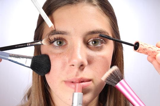 Creating cosmetic confidence
