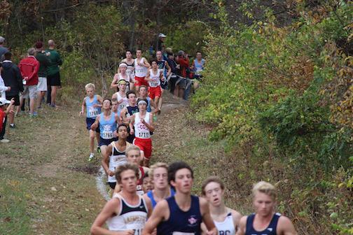 Varsity boys' cross country season review
