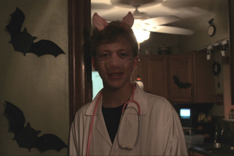 """I am doctor pork-ony"" -Clayton Pokorny, sophomore."