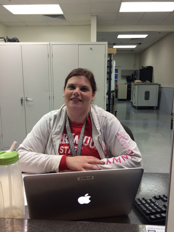 """What would you do if you were a billionaire? """"I would give some of it, some to my family. I would definitely get a big house, get a new car. Travel and get a plane, I would live it up. No more working."""" -Meredith Bybee, KHS Tech Specialist"""