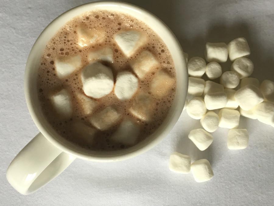 Simple homemade hot chocolate with marshmallows. (Robert Cronkleton/Kansas City Star/TNS)