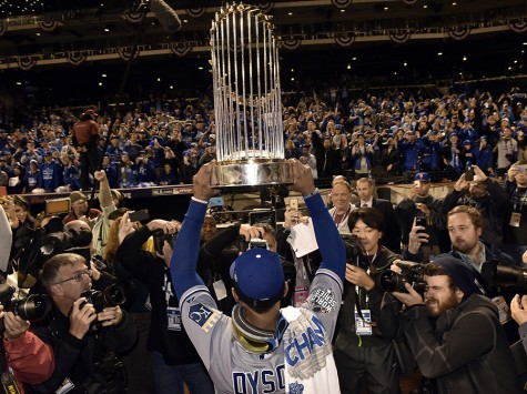 Royals clench World Series
