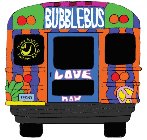 Behind the Bubble Bus