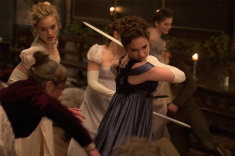 About the undead: Pride and Prejudice and Zombies