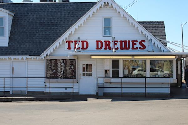 One of the most famous custard places in St. Louis, Ted Drewes, has been around for over 80 years. The unique custard shop also sells Christmas trees during the winter season.