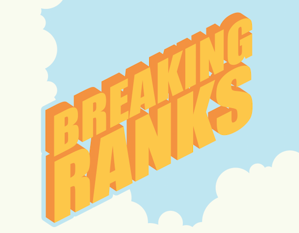 Call Ed: Breaking ranks