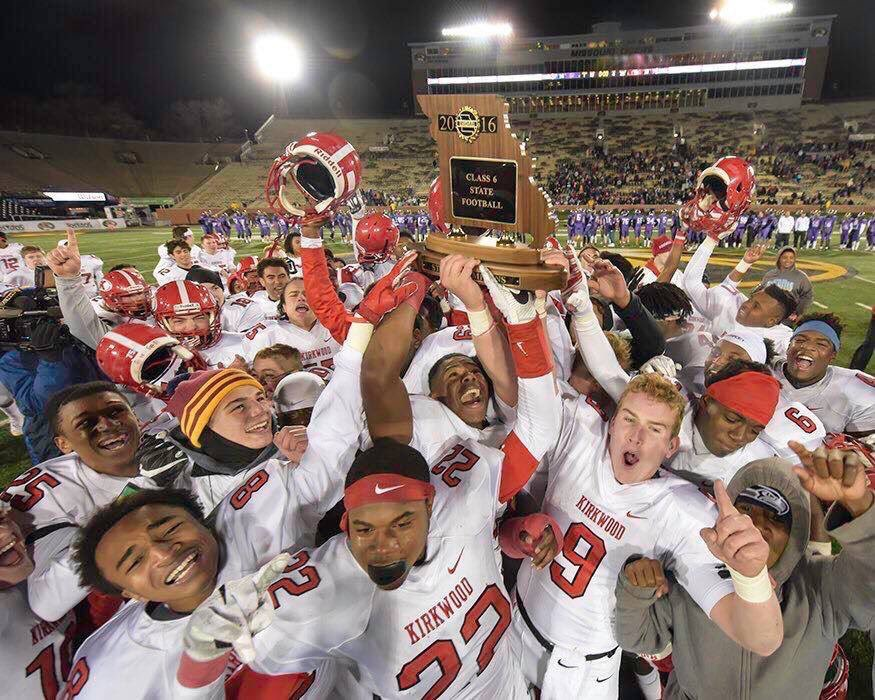 Kirkwood football wins state championship