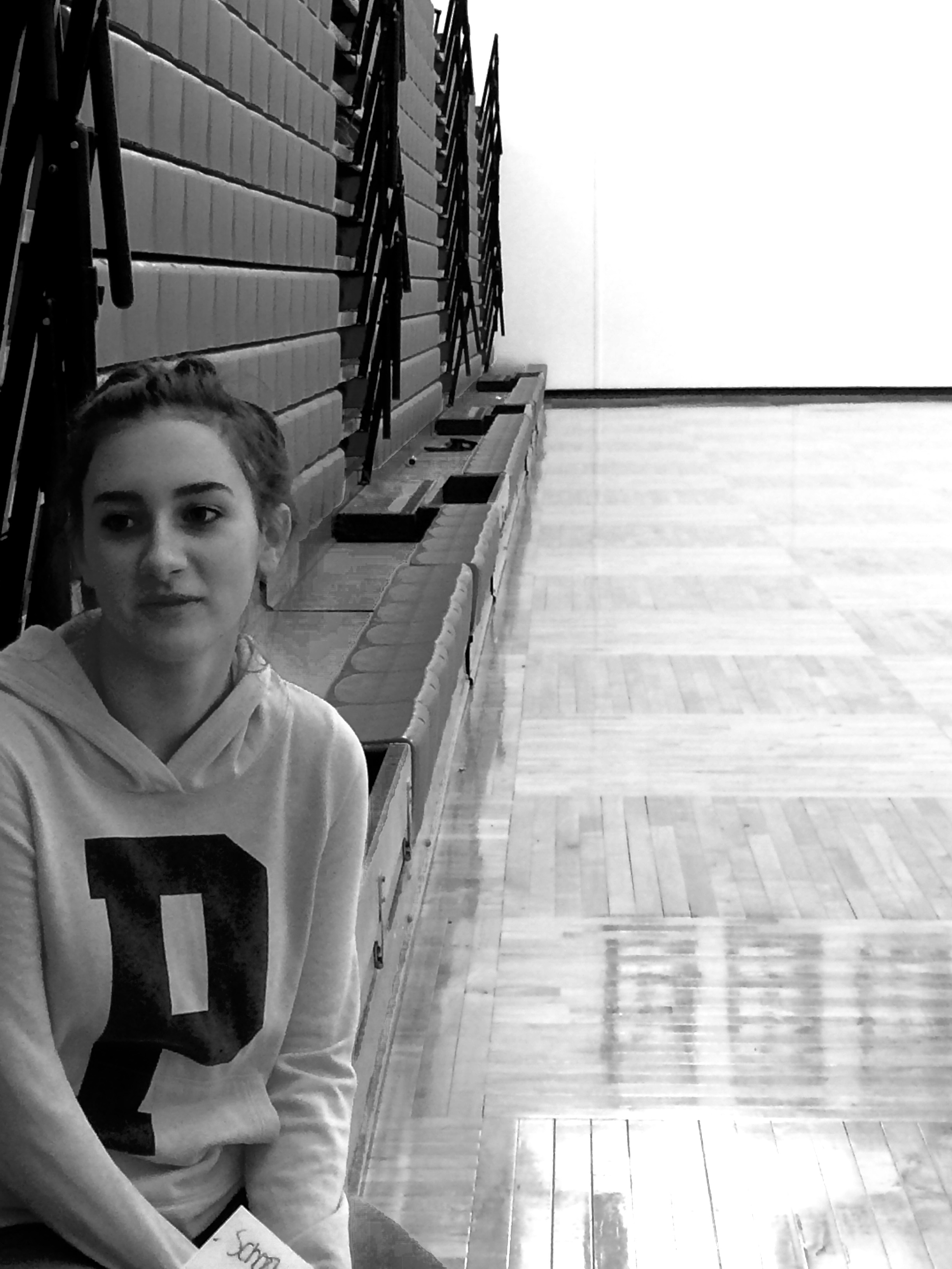 """[School sports should not be a P.E. credit] because people are choosing to do that,"" Mollie Lodde, sophomore said. ""People are choosing to [participate] in school sports and P.E. class is mandatory."""