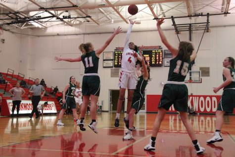 Photo gallery: girls' varsity basketball vs Nerinx Hall