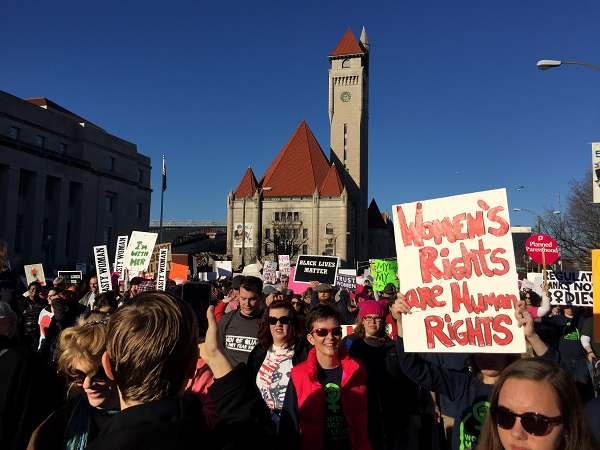 A white male's experience at the Women's March on St. Louis