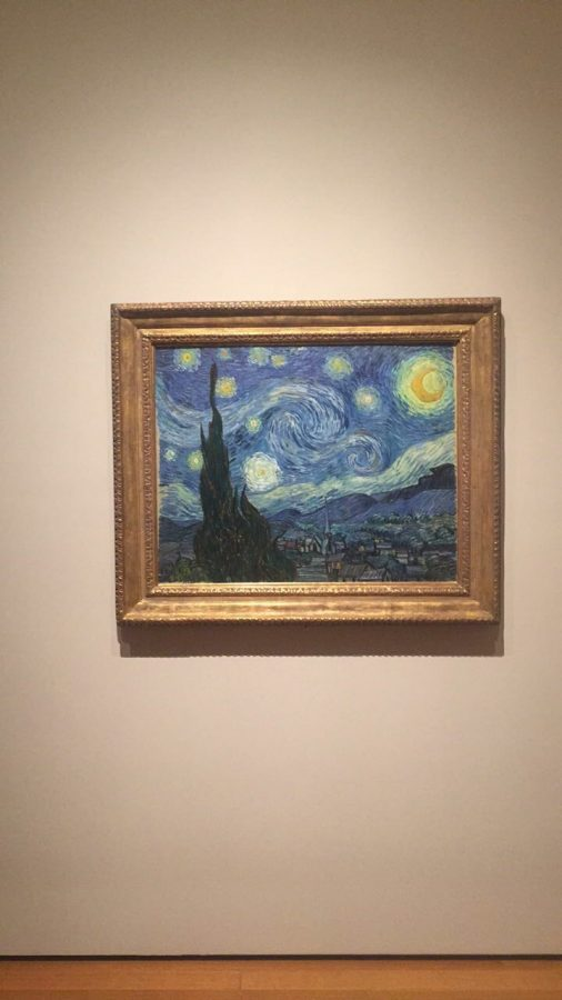 Starry Night by Vincent Van Gogh at the Museum of Modern Art.