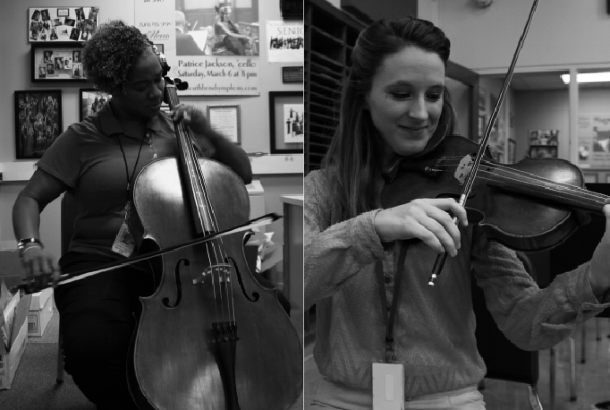 Strings attached: grads return to teach orchestra