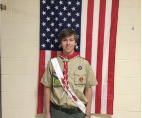 Kirkwood senior earns Eagle Scout ranking
