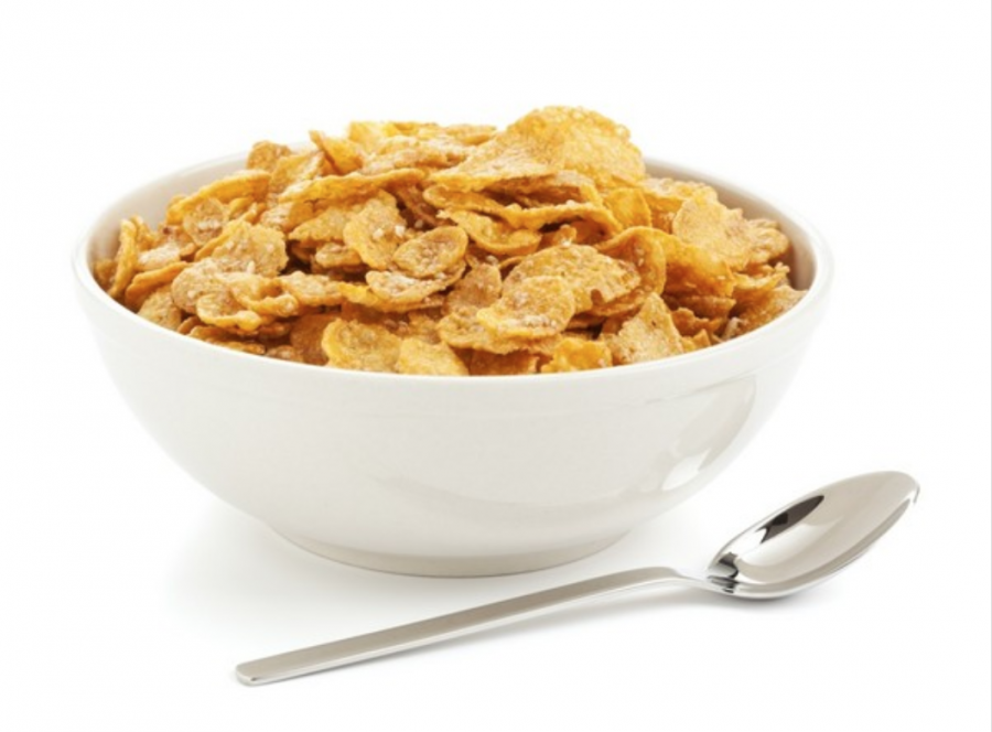 Cereal first!