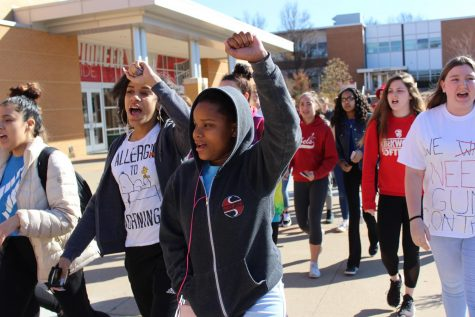 Photo gallery: Student-led walkout