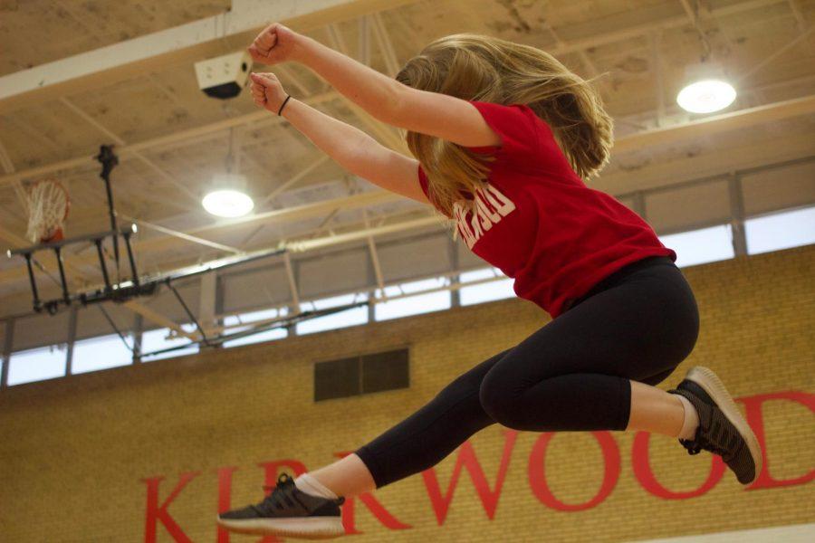 Gymnastics to Gymnasium; Cate Peters