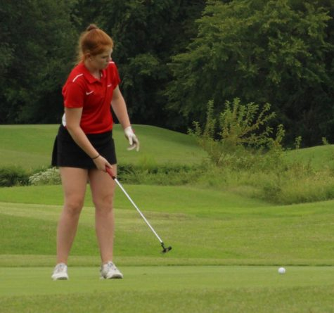 Photo gallery: girls' JV golf at the Webster Groves Invitational