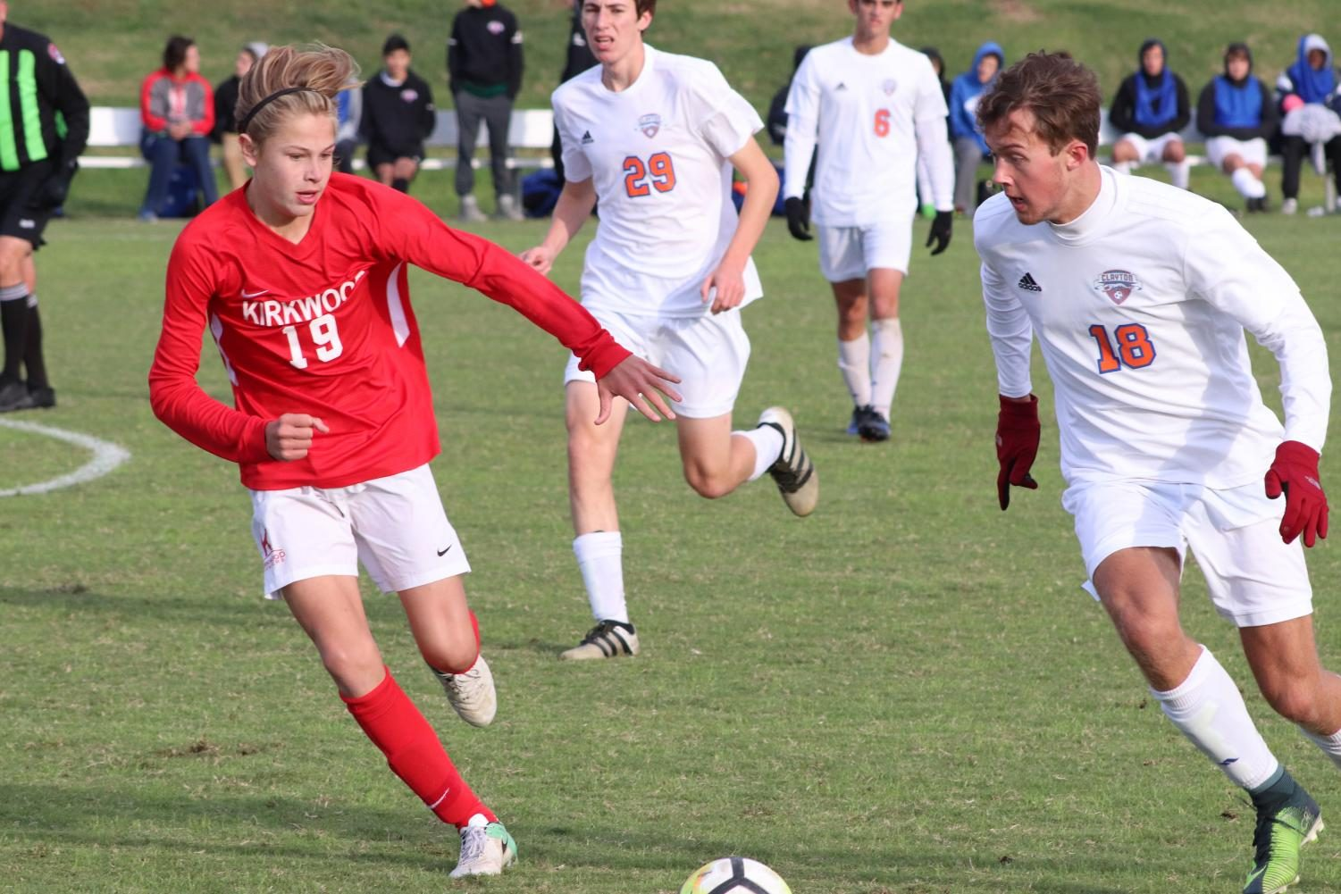 Photo gallery: varsity boys' soccer Oct. 15