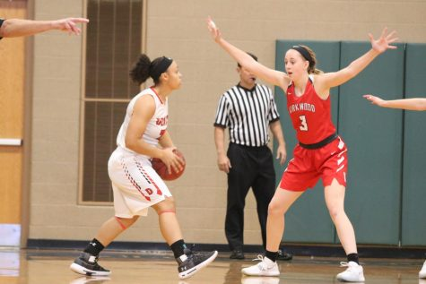 Photo gallery: girls' varsity basketball game vs. Dexter High School 11/24