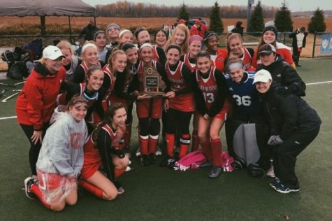 Kirkwood girls' varsity field hockey semifinals