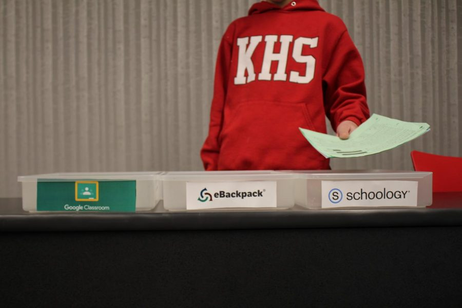 More students like to turn in their assignments on Schoology, rather than other platforms.