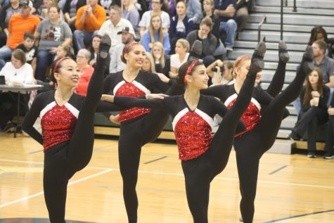 Photo gallery: Kirkwood varsity poms competition 12/1
