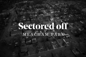 Drone view of Meacham Park.