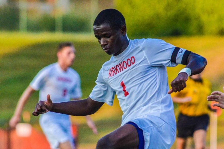 The KHS varsity boys' soccer team had a tough matchup against Webster's future MLS senior goalkeeper Sept. 17, 2010. But he was no match for 2014 KHS graduate Eric McWoods, a freshman at the time.