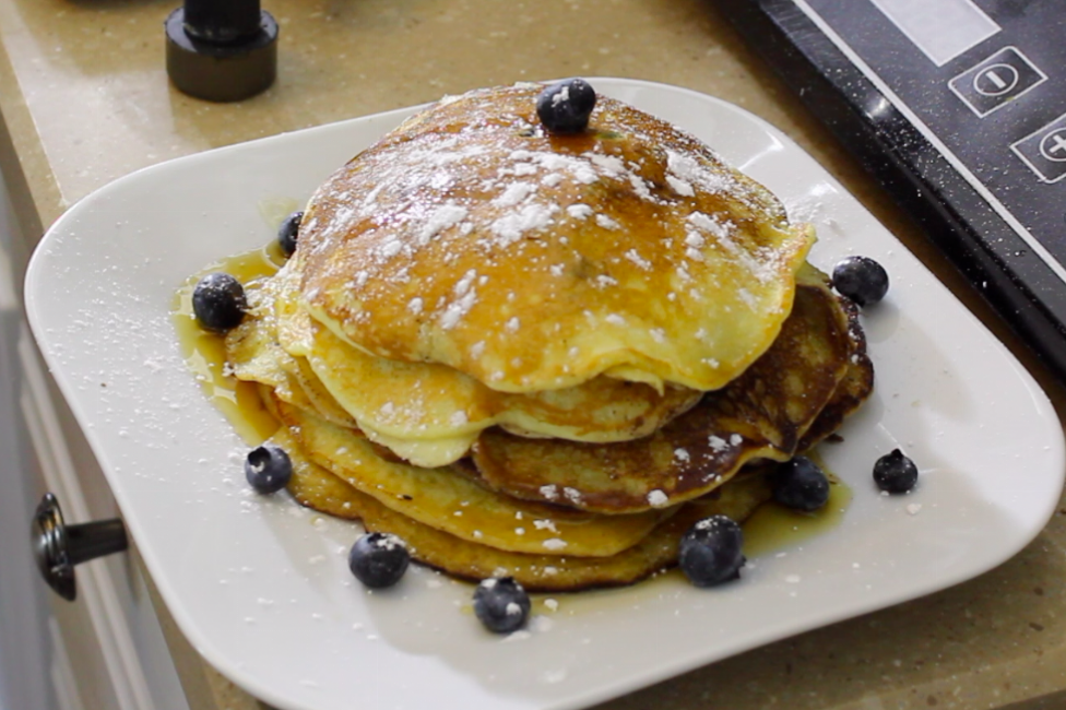 Cooking with Elliott: lemon, blueberry and ricotta pancakes